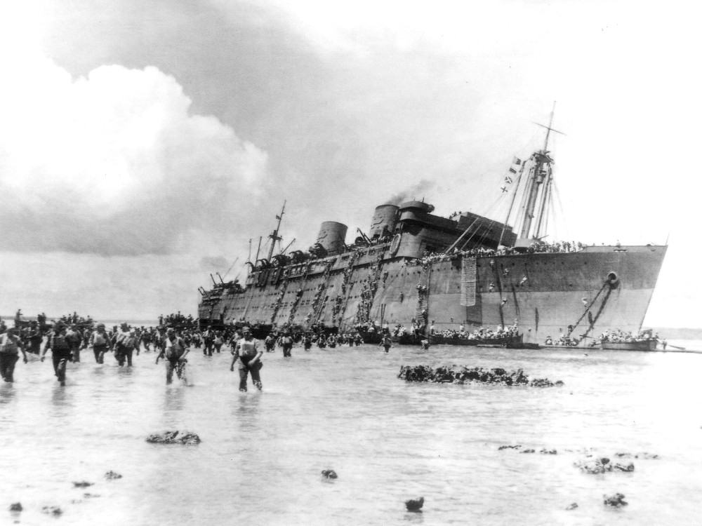 The Sinking of the Coolidge